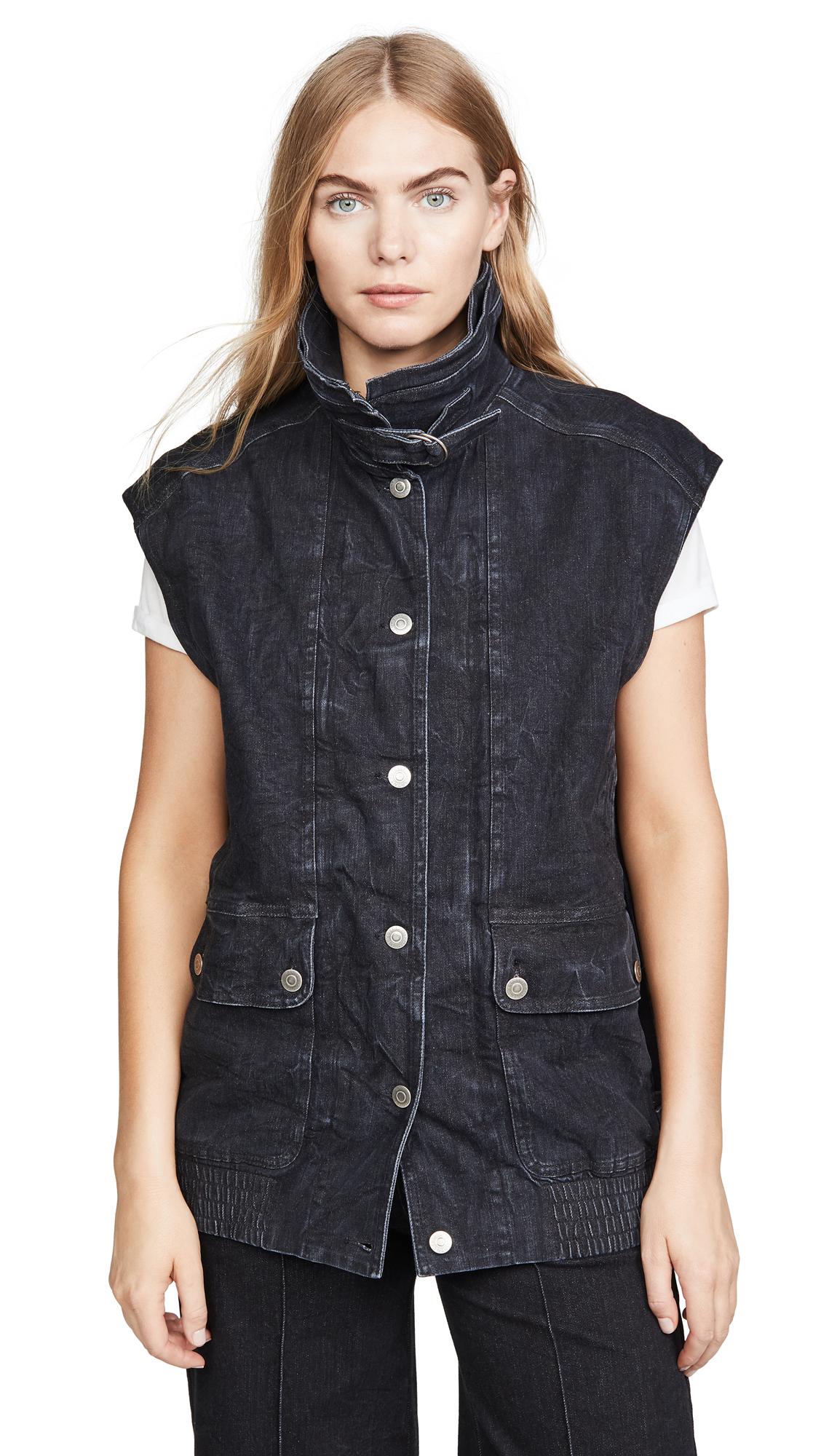 Buy Stella McCartney online - photo of Stella McCartney Waistcoat Organic Extreme Black