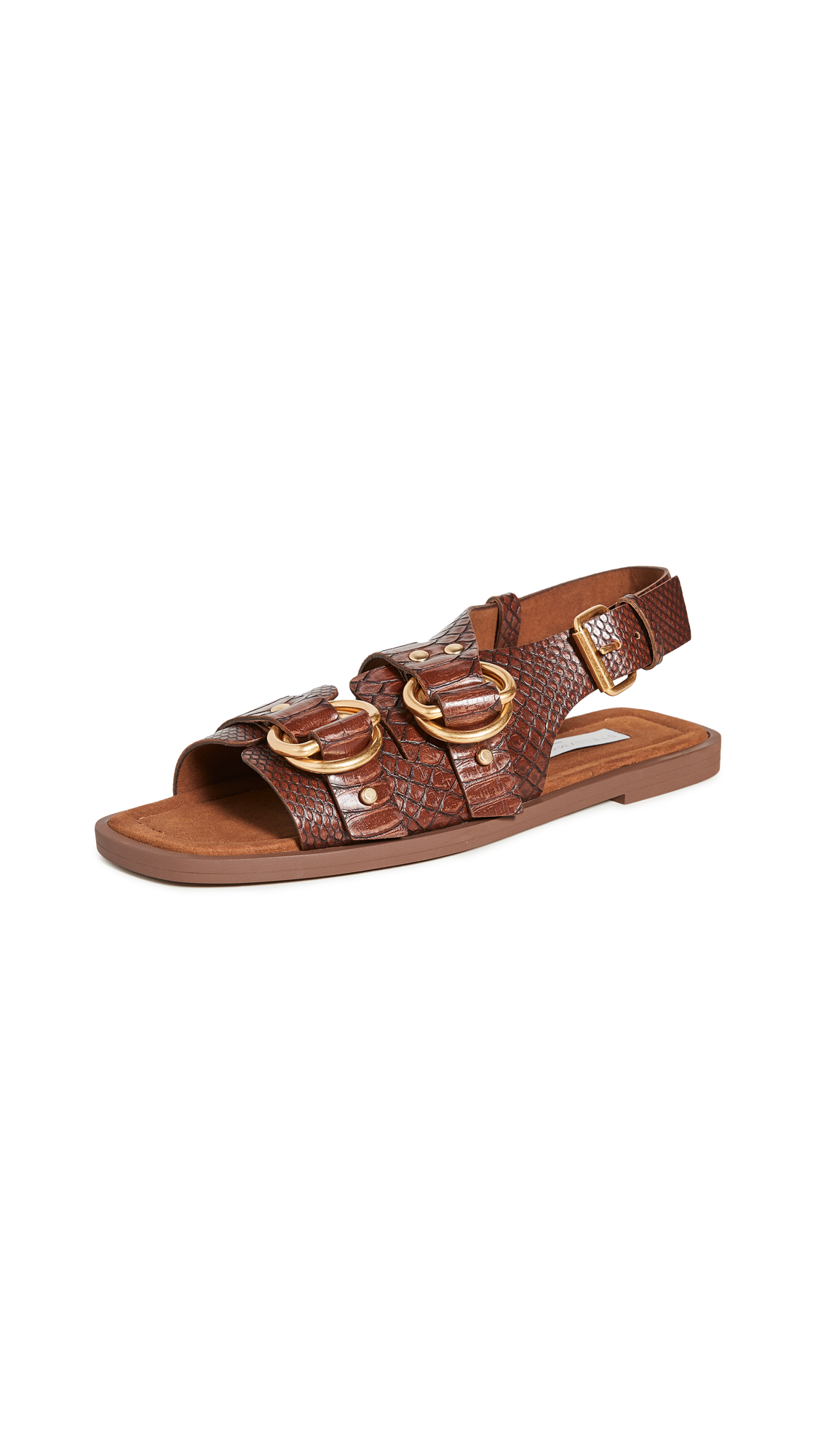 Buy Stella McCartney Flat Sandals online, shop Stella McCartney