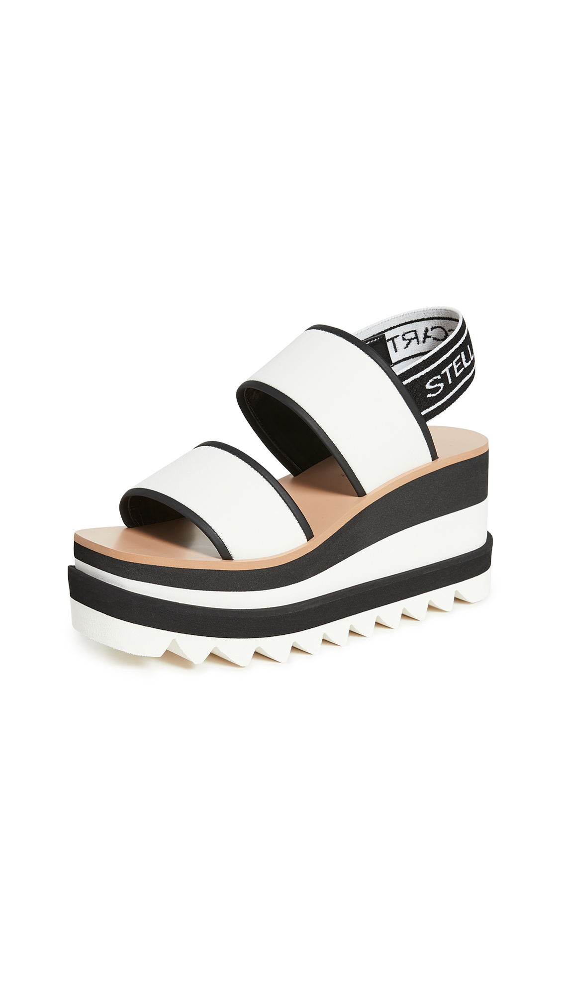 Buy Stella McCartney Two Band Sandals online, shop Stella McCartney