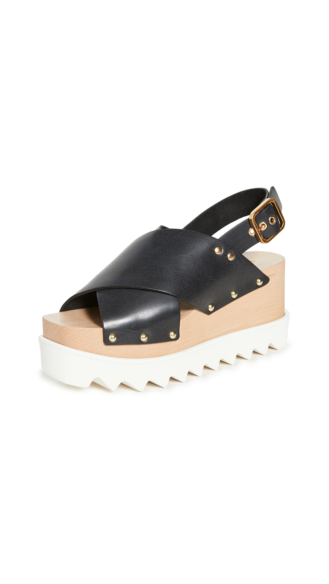 Buy Stella McCartney Percy Crisscross Chunky Sandals online, shop Stella McCartney