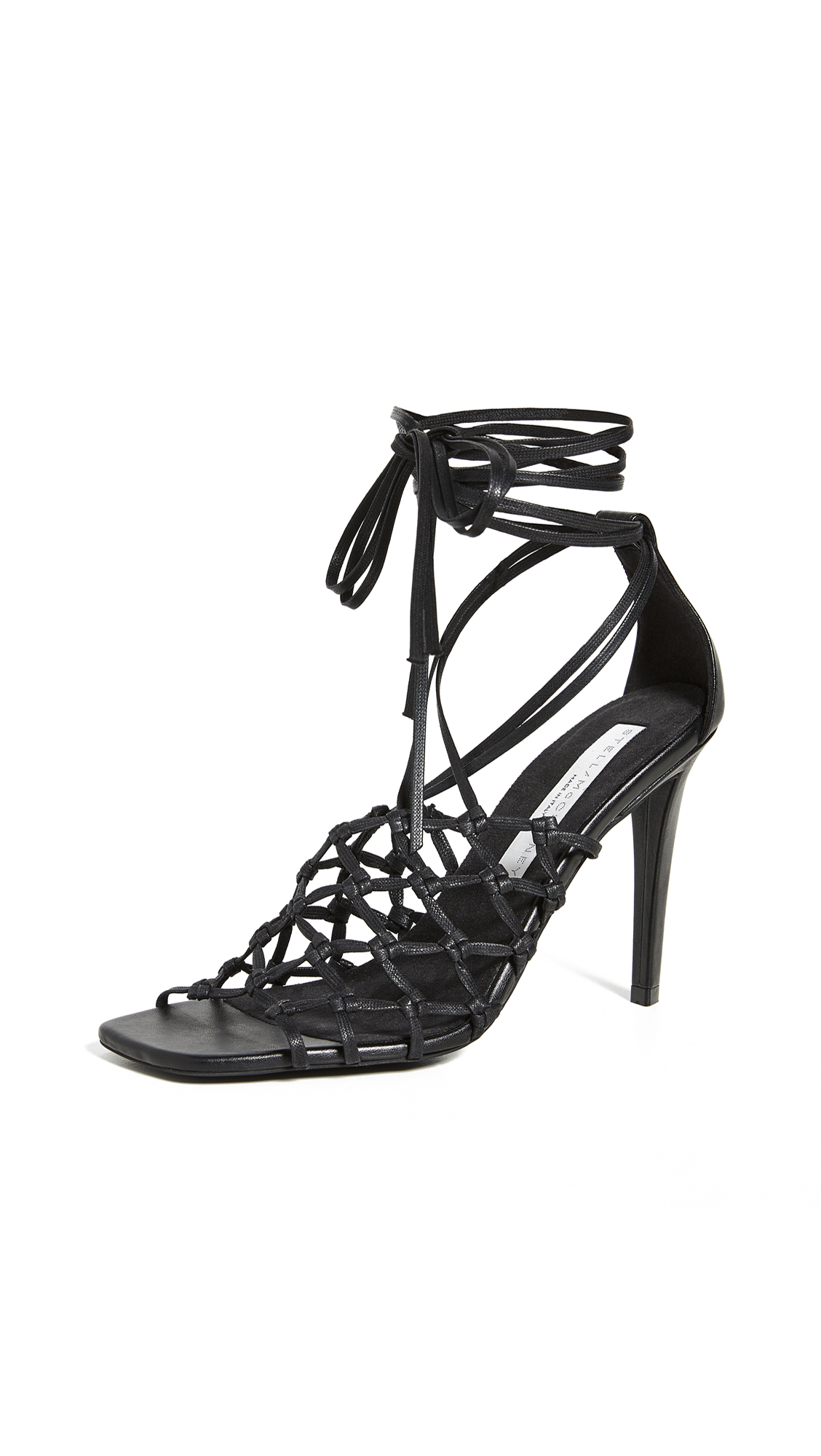 Buy Stella McCartney Woven Sandals online, shop Stella McCartney