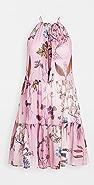 Stella McCartney Trippy 花卉短连衣裙