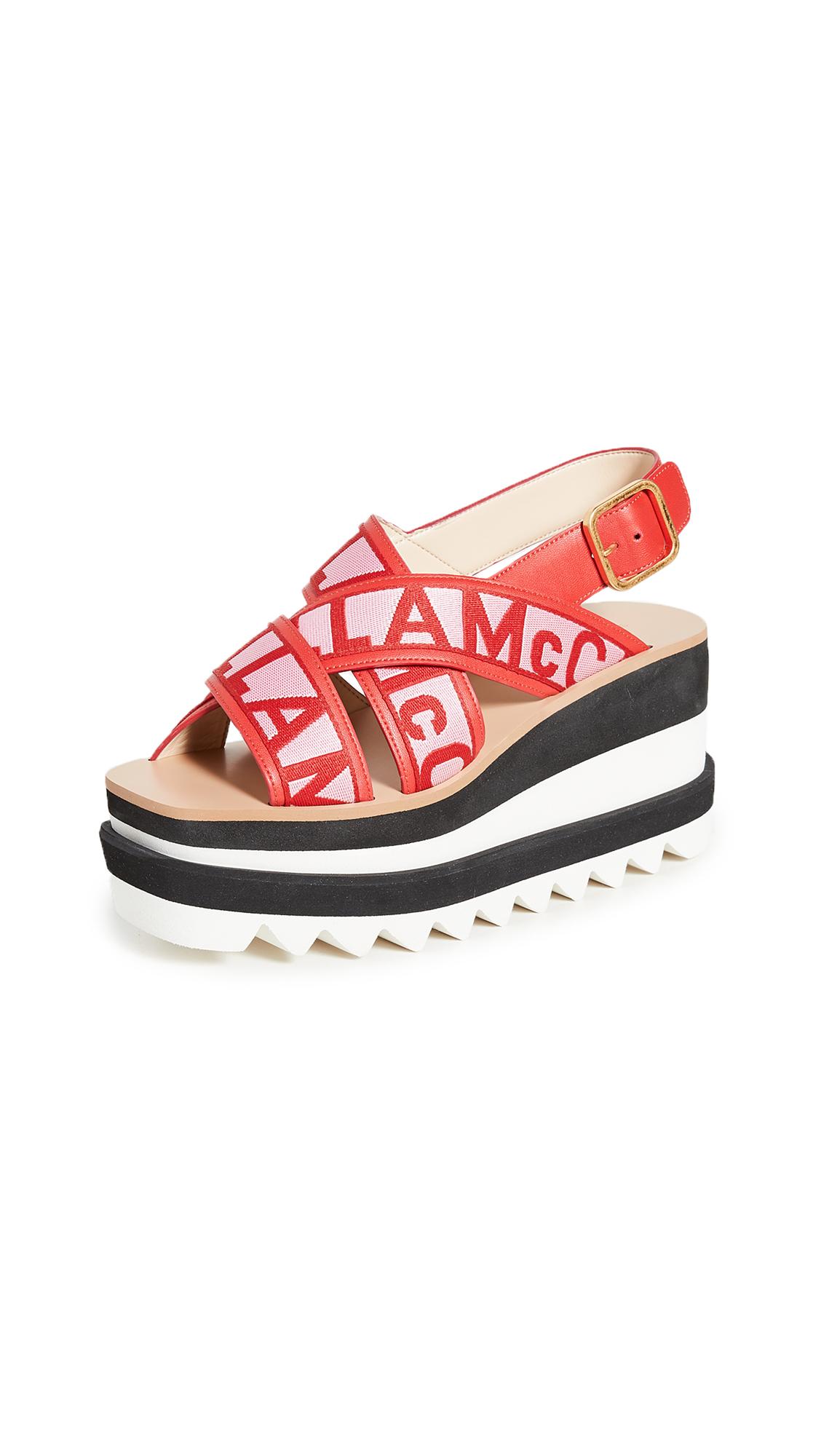 Stella McCartney Sneak Elyse Sandals – 40% Off Sale