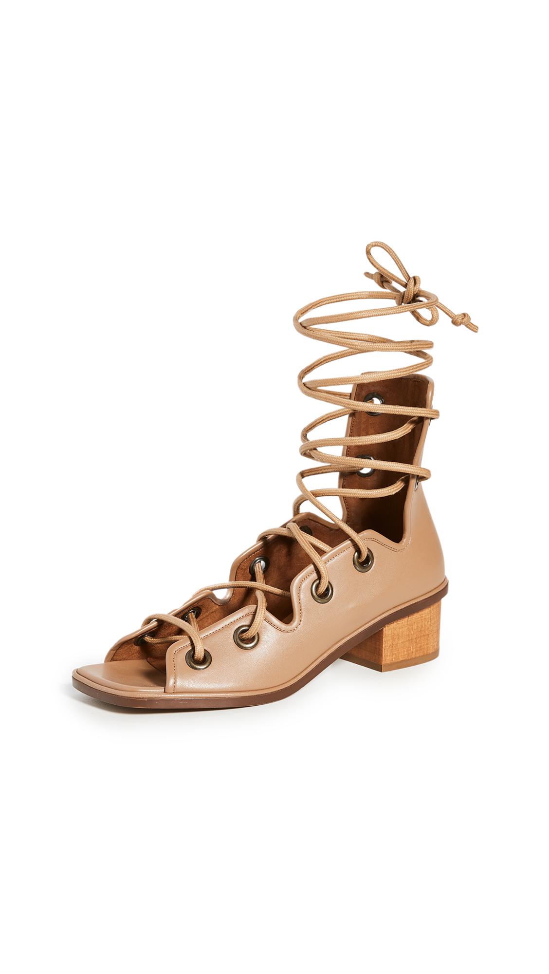Photo of Stella McCartney Maia Strings Sandals - shop Stella McCartney Sandals, Flat online