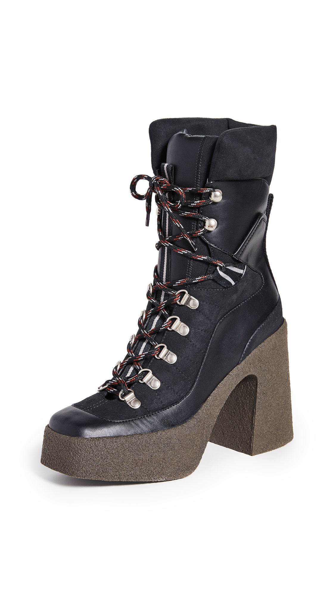Buy Stella McCartney Lace-Up Boots online, shop Stella McCartney
