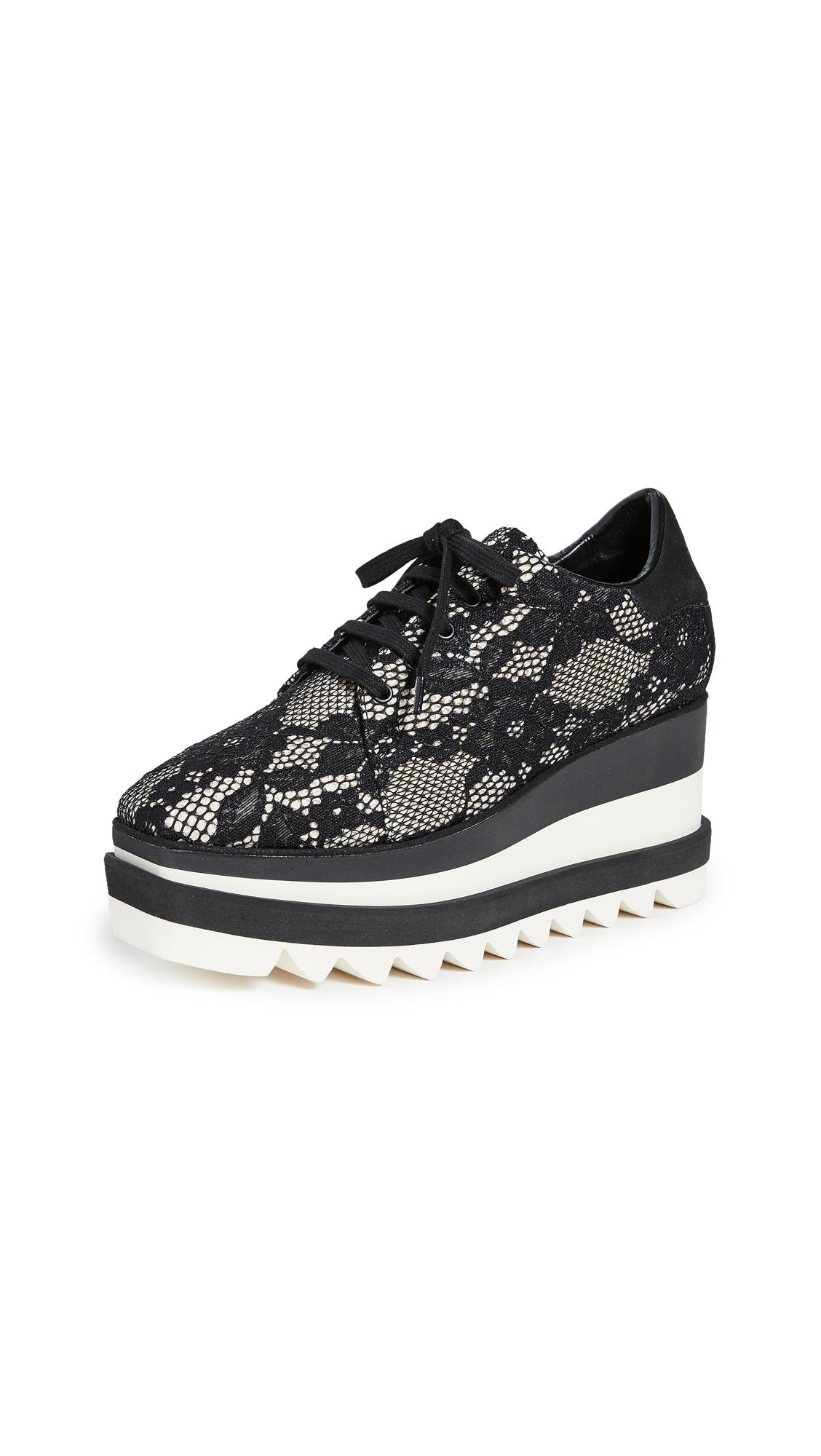 Buy Stella McCartney online - photo of Stella McCartney Elyse Lace Up Shoes