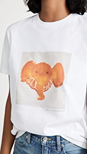 Stella McCartney Elephant Tangerine Tee