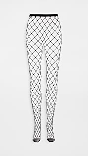 Stems New York Edit Sheer and Fishnet Tights
