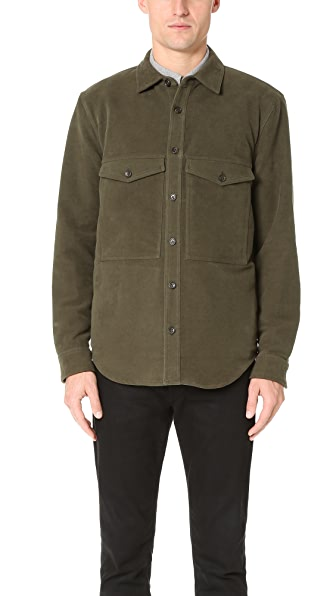 Steven Alan Double Pocket Shirt Jacket