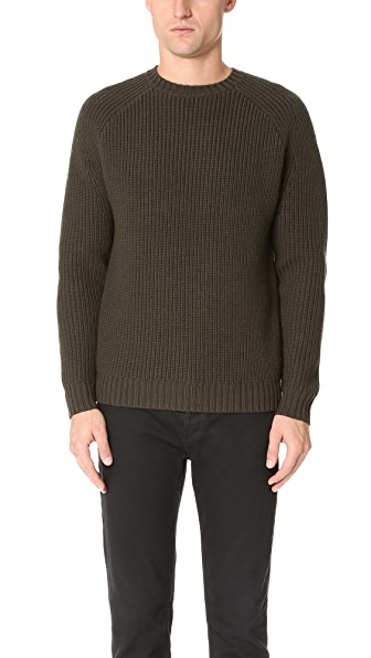 Steven Alan Raglan Heavy Crew Neck Sweater