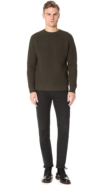 Steven Alan Raglan Heavy Crew Neck Sweater