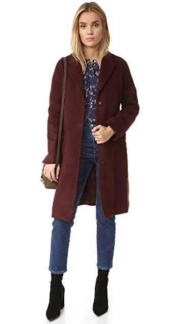 Steven Alan Chrome Coat