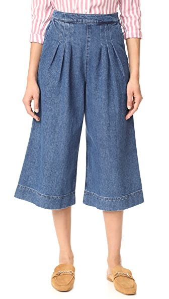 Steven Alan Denim Travel Culottes