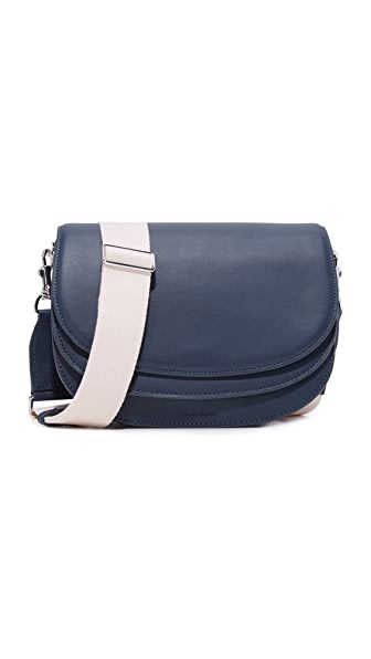 Steven Alan Landon Saddle Bag In Navy
