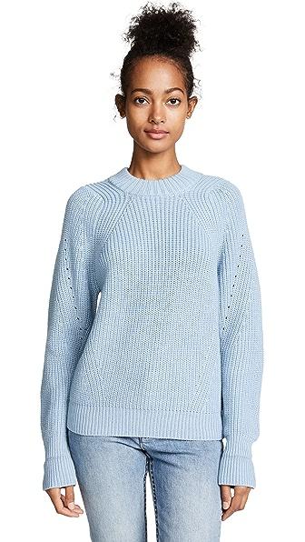 Steven Alan Grant Sweater In Powder Blue