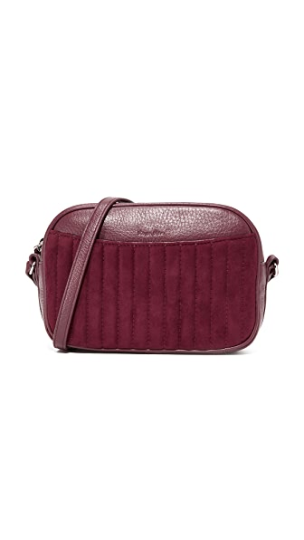 Steven Alan Ayla Camera Bag - Merlot Quilted