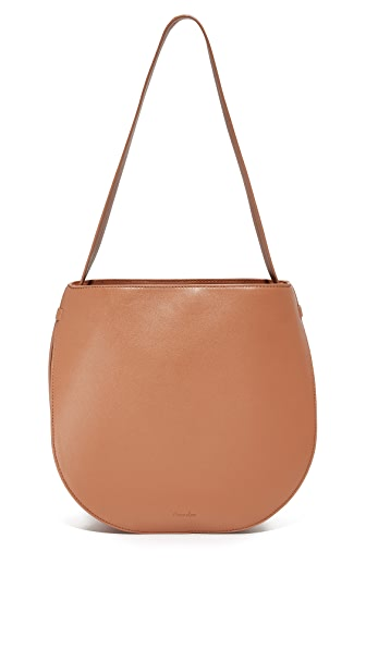 Steven Alan Helena Half Moon Shoulder Bag - Saddle