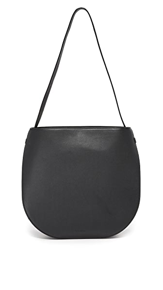 Steven Alan Helena Half Moon Shoulder Bag In Black