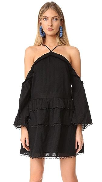 Stevie May Black Heart Mini Dress