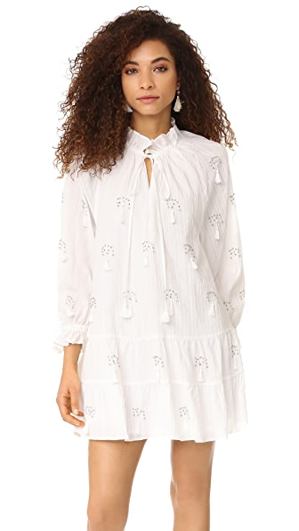 Stevie May Novella Dress - White