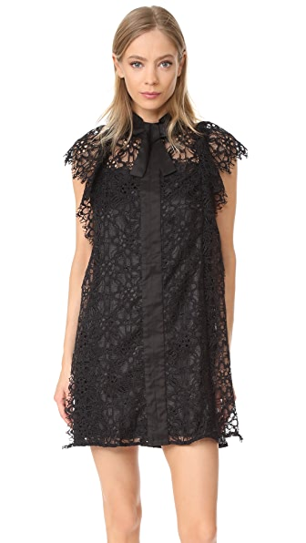 Stevie May Serge Dress - Black