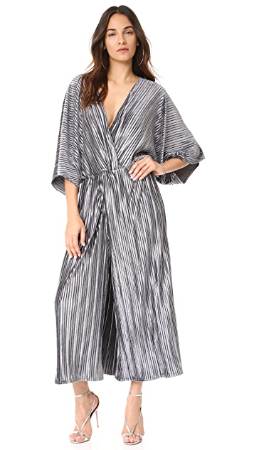 Stevie May The Kiss Pleated Jumpsuit