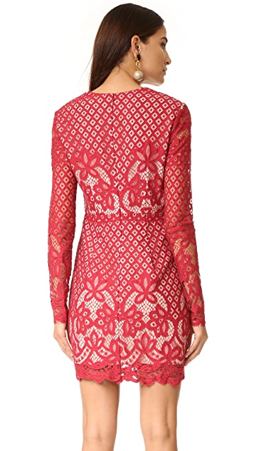 STYLESTALKER Lani Long Sleeve Dress