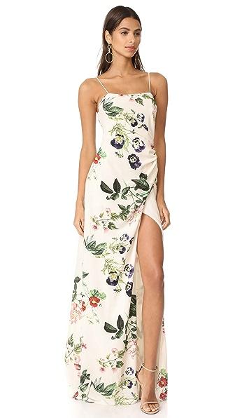 STYLESTALKER Angeles Maxi Dress - Floral Print
