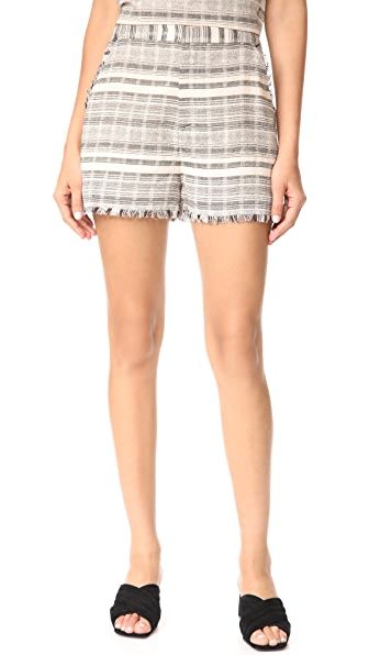 STYLESTALKER Willow Shorts In Stripe