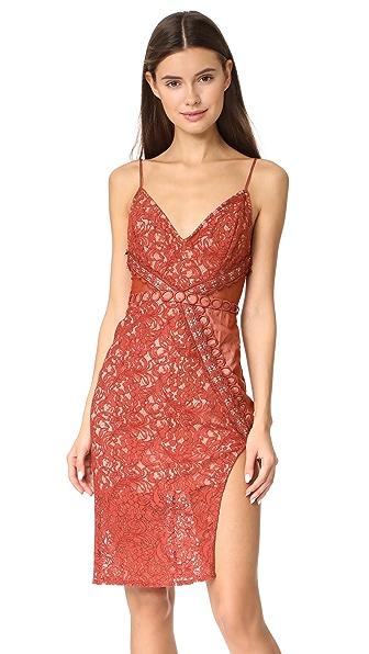 STYLESTALKER Laylor Midi Dress In Sedona