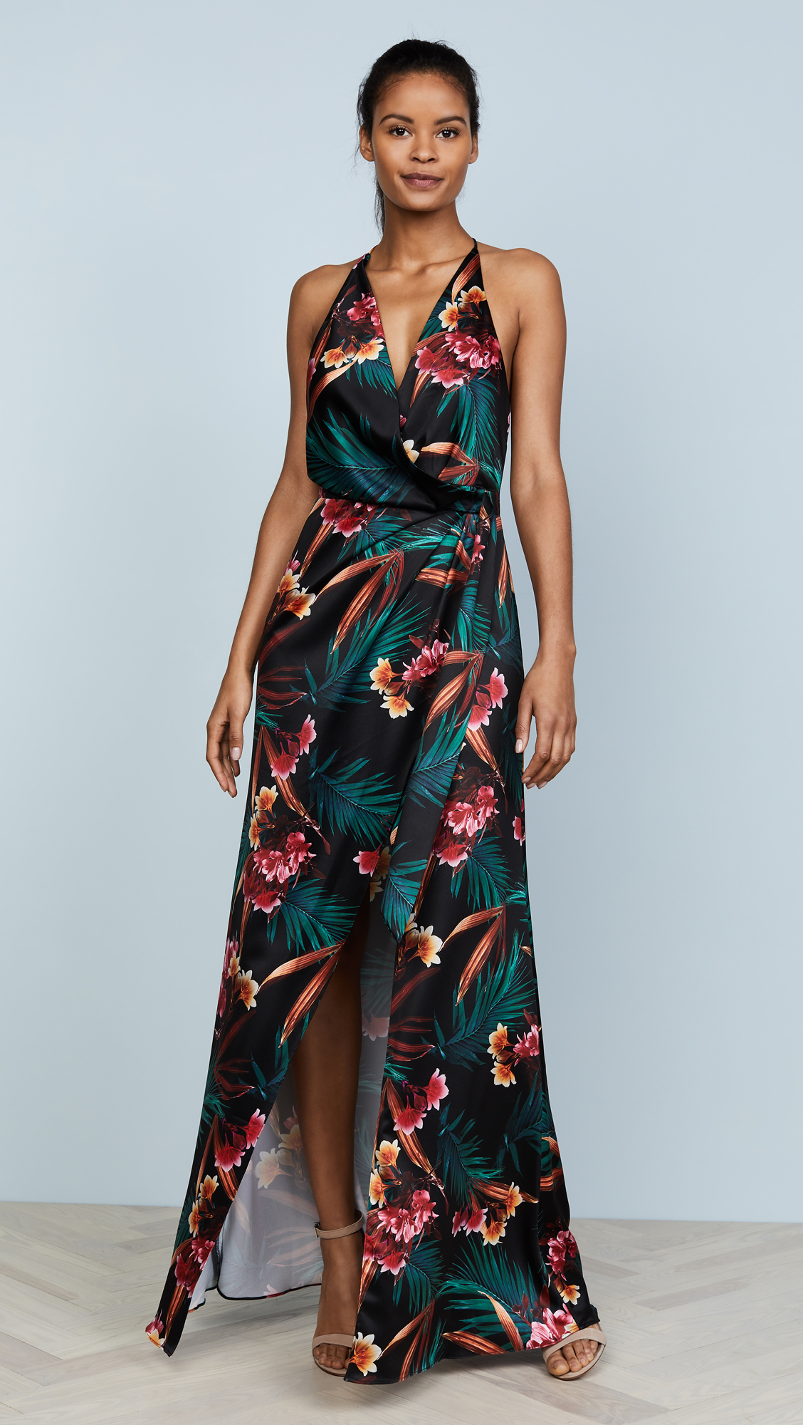 STYLESTALKER Evelyn Floral Maxi Dress | SHOPBOP