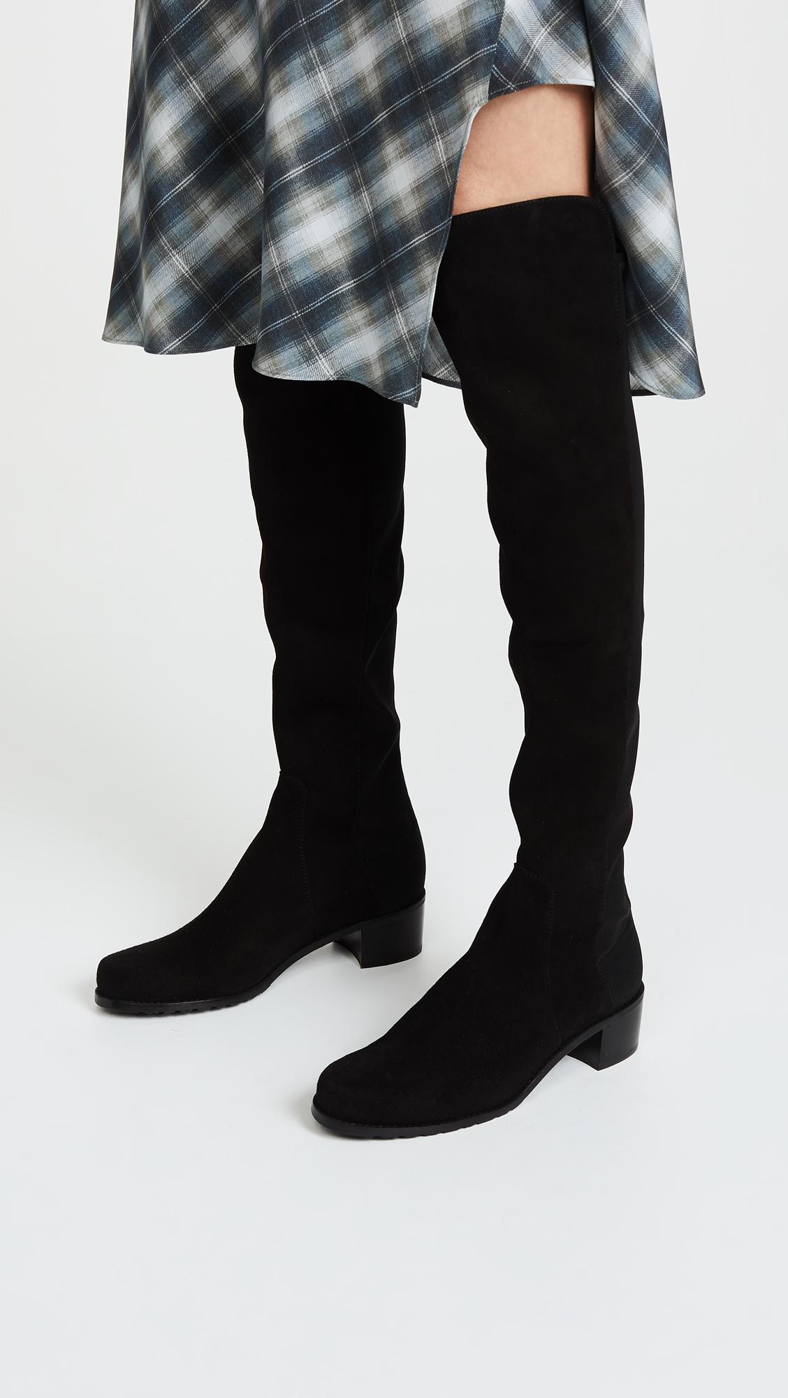 67bcadcd0d8 Stuart Weitzman Reserve Stretch Suede Boots