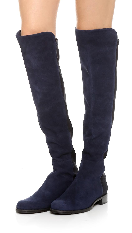 379778b36ea Stuart Weitzman 5050 Stretch Suede Boots