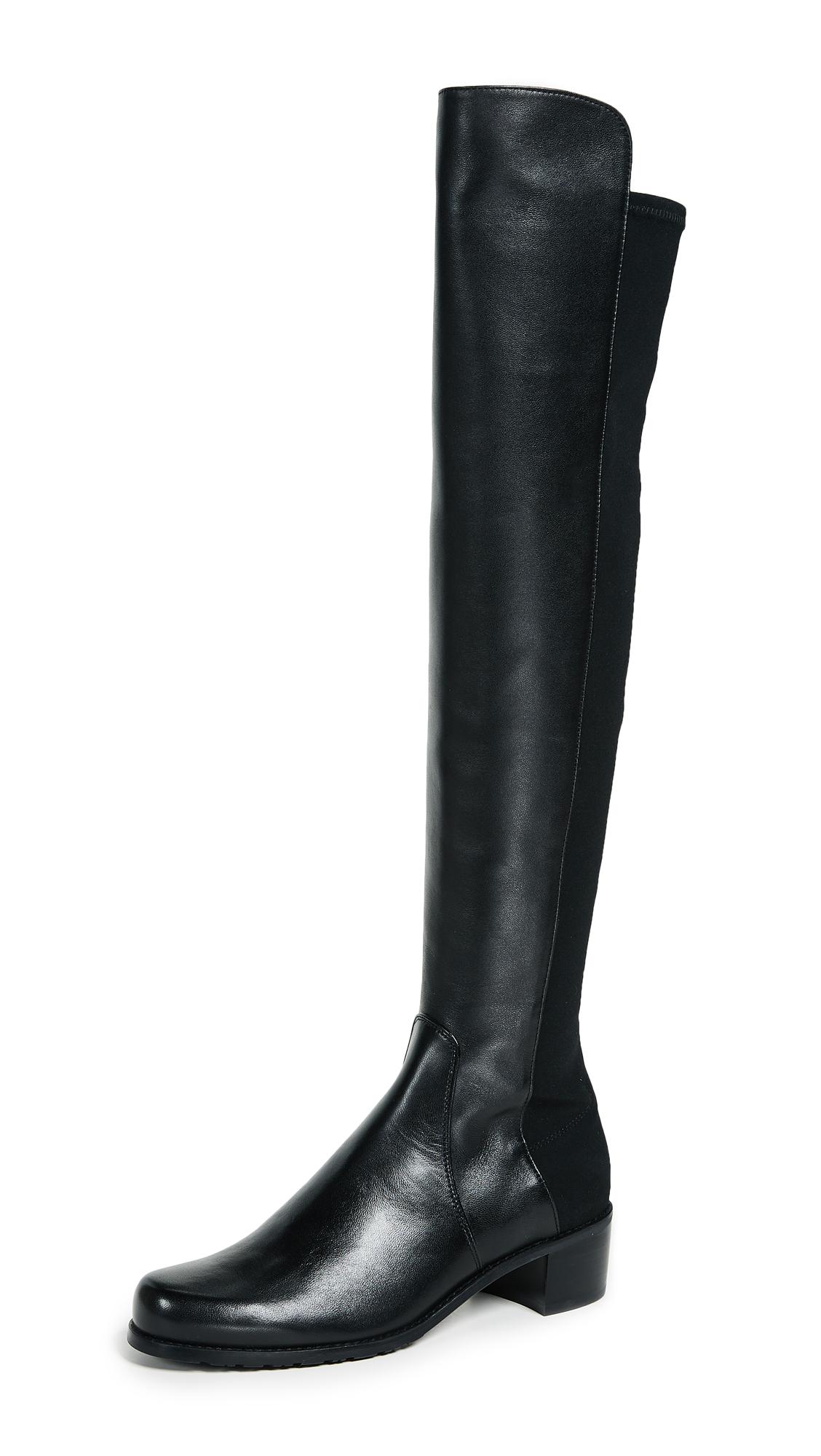 Stuart Weitzman Reserve Tall Boots - Black
