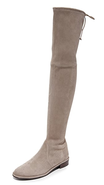 Stuart Weitzman Lowland Over the Knee Boots - Topo