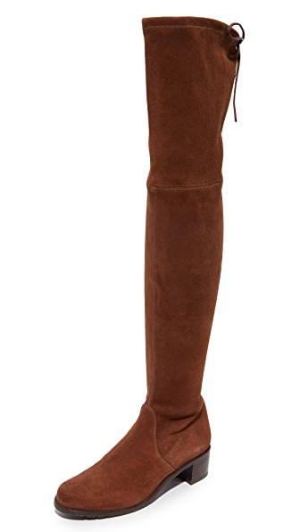 Stuart Weitzman Midland Over the Knee Boots - Walnut