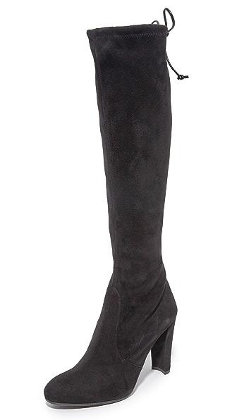 Stuart Weitzman Keenland Tall Boots - Black