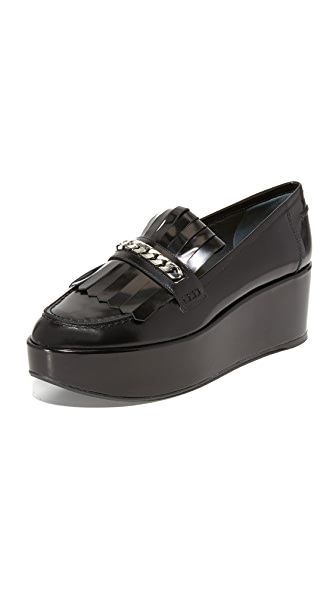 Stuart Weitzman Bmoc Platform Loafers