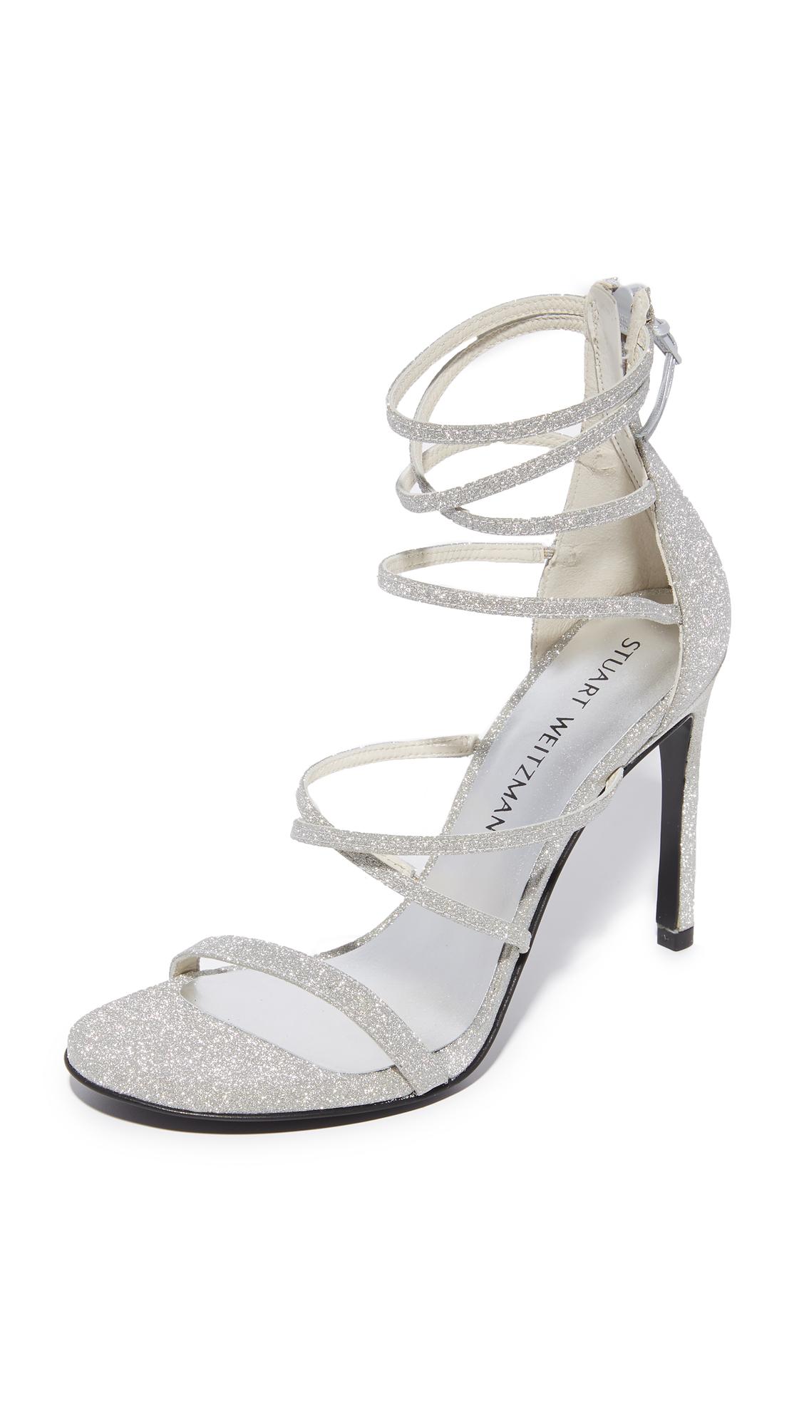 stuart weitzman female  stuart weitzman myex sandals plata