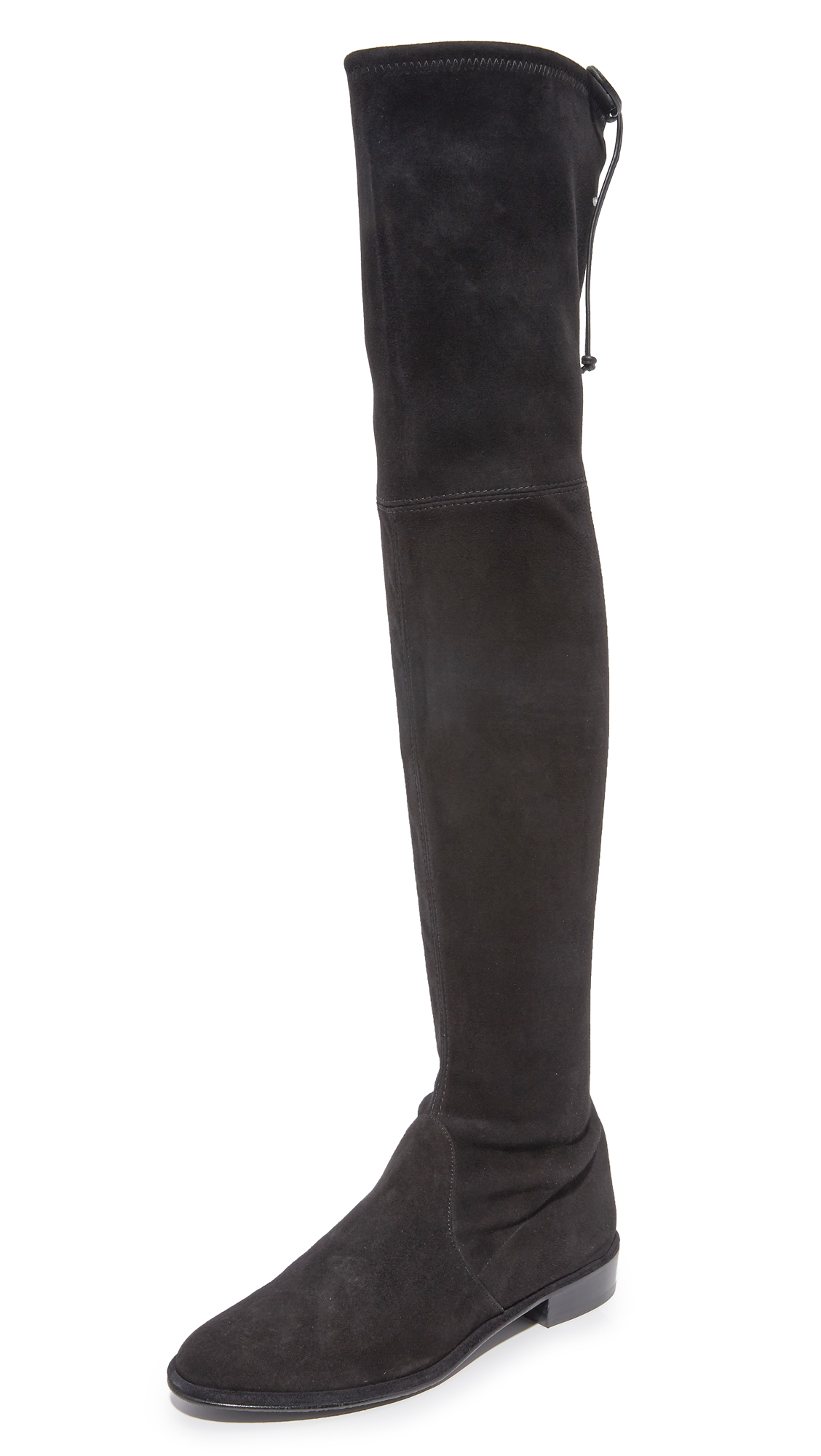 Stuart Weitzman Lowland Over the Knee Boots - Black
