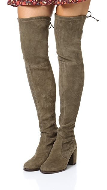 Stuart Weitzman Tieland Over the Knee Boots