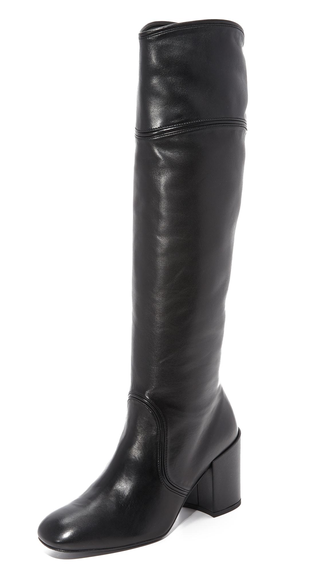 Stuart Weitzman Tubetop Boots - Black