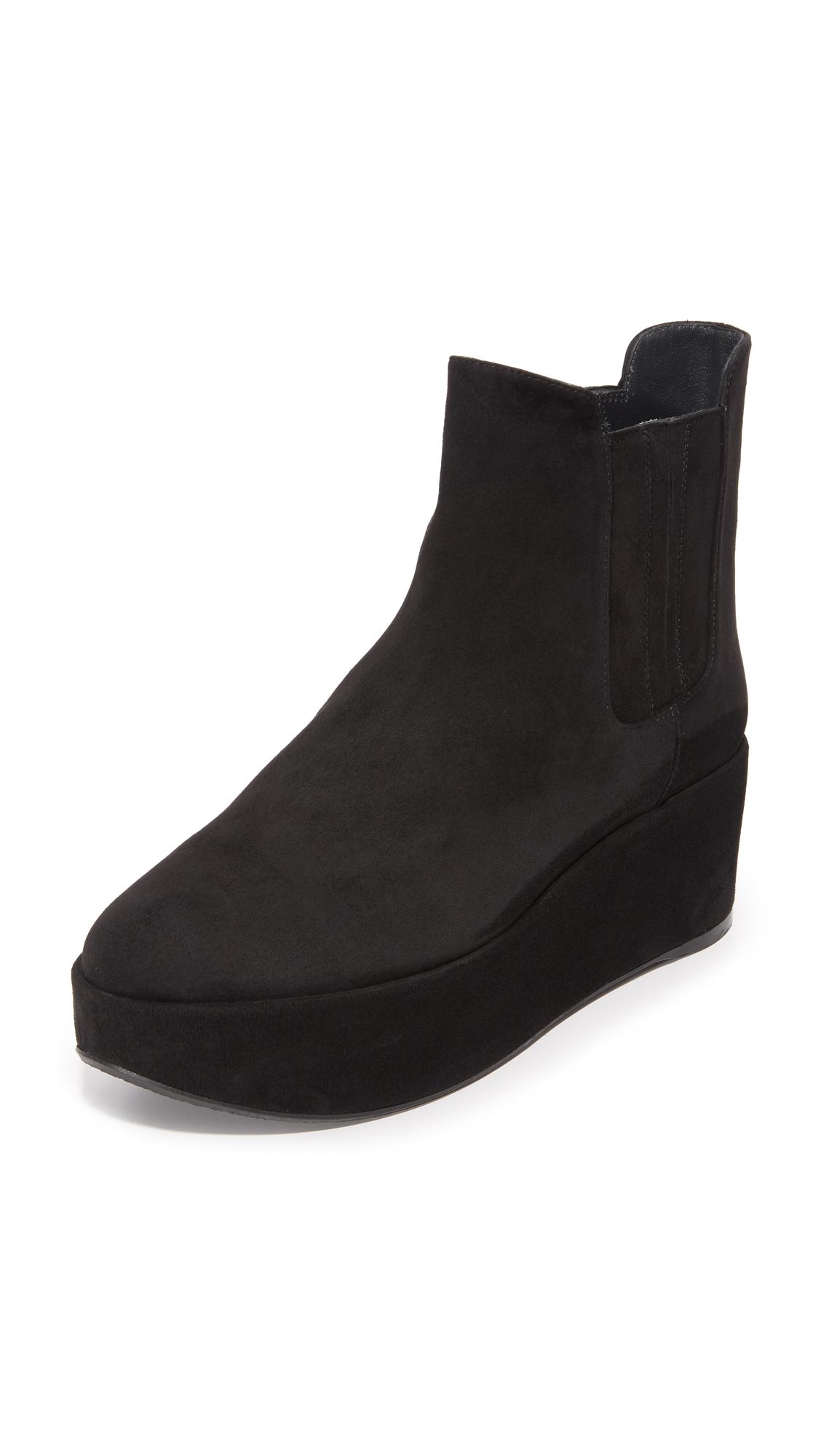 Stuart Weitzman Basilico Booties - Black