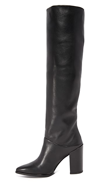 Stuart Weitzman Scrunchy Tall Boots