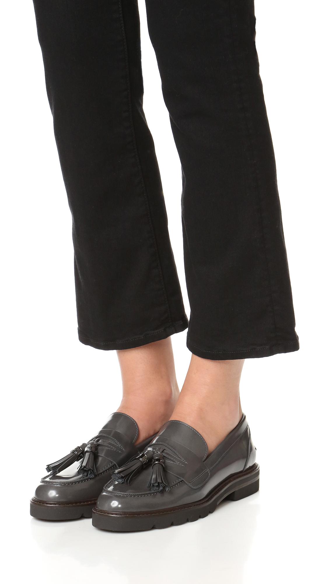 eastbay cheap online Stuart Weitzman Suede Platform Loafers discount 100% authentic 7SZvFUNx