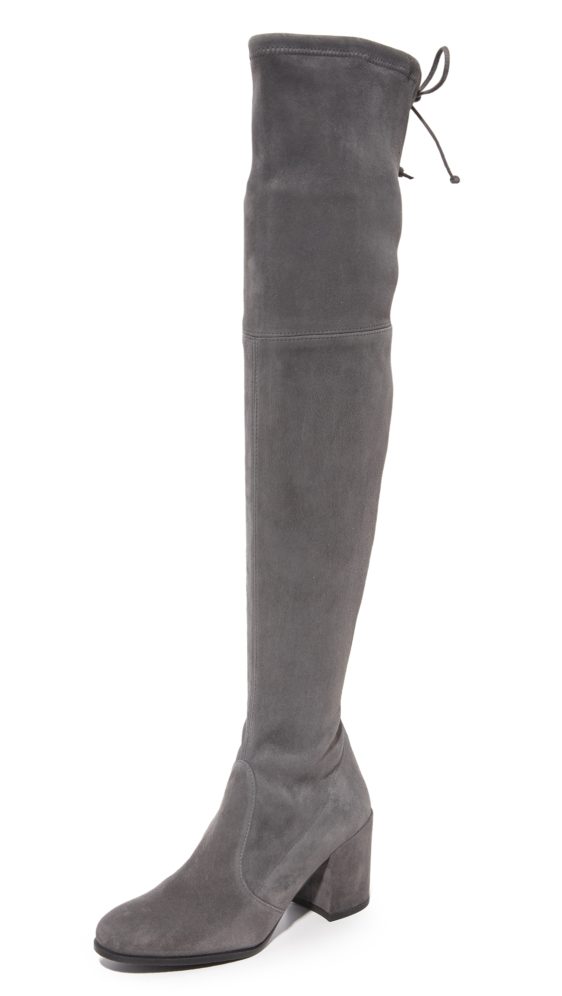 Stuart Weitzman Tieland Over the Knee Boots - Slate