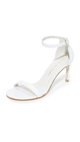 Stuart Weitzman Nunakedstraight Sandals - White