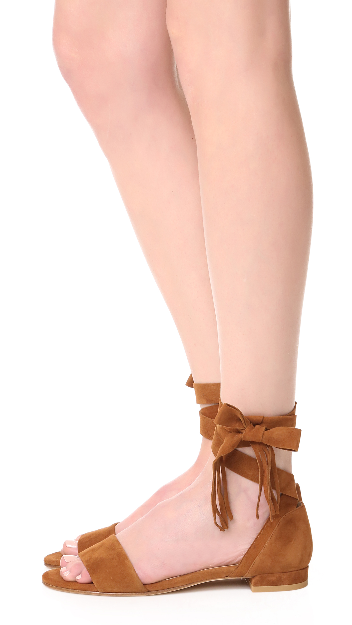 5fdfd3a156ce Stuart Weitzman Corbata Wrap Sandals