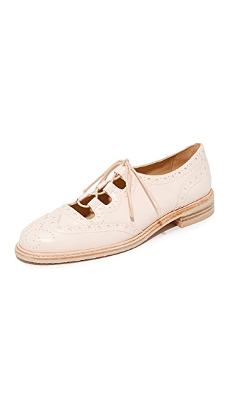 Stuart Weitzman Mrgill Lace Up Oxfords