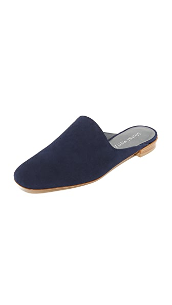 Stuart Weitzman Mulearky Slides - Nice Blue